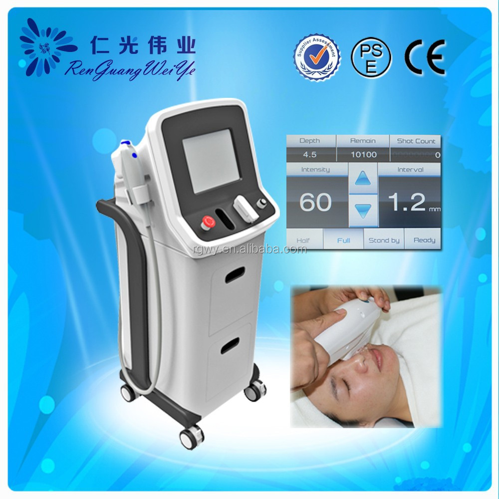 HIFU ultrasound non surgical face lift machine