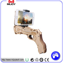 2017 Wood Bluetooth Shooting Game Toy Player AR Gun for AR Games