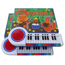 High Quality Hardcover Book Printing Children Piano Music Books Customized Sounds Book For Kids Factory OEM Service
