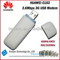Original Unlock HSDPA 3.6Mbps HUAWEI E153 3G USB Modem And 3G Dongle