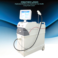 Newest !!! Hair Removal Machine Q Switch nd yag laser with 1064nm long pulse laser