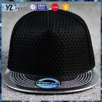 New product fashionable square visor snapback hat for sale