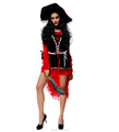 red and black high quality adult wholesale funny carnival costume