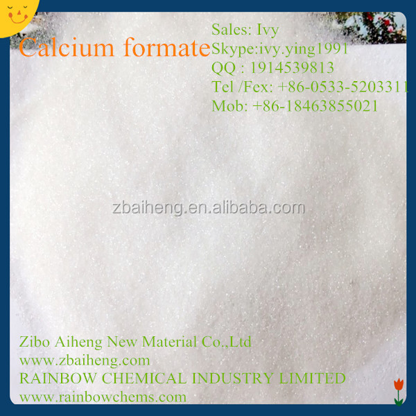 China Organic Salt 98 Content Calcium Formate /Formic acid calcium salt/544-17-2 Used For Concrete and Cement