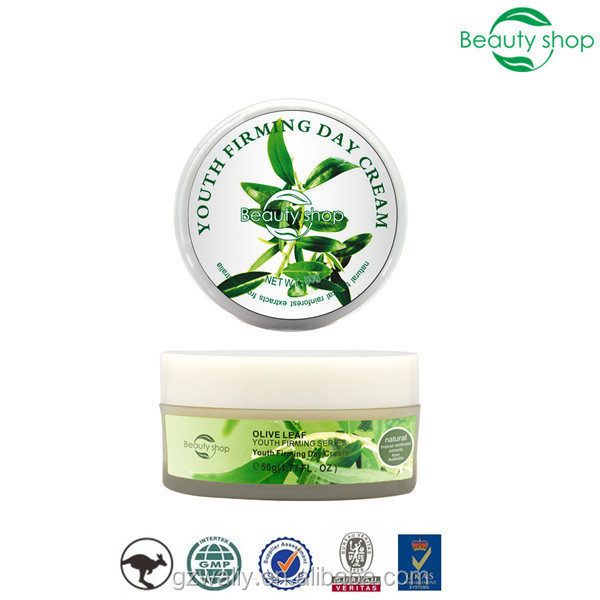 Olive leaf anti-aging youth firming day cream
