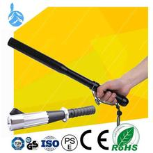 Full Inspection Aluminum Alloy 3 Modes Telescopic Baton 200lm rechargeable emergency torch light