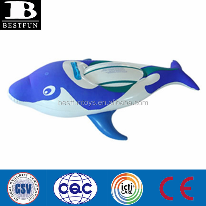 Factory custom made pvc giant Inflatable Whale toy lovely animal toy