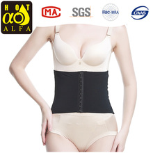 Newest comfortable Slimming Body Shaper corset waist trainers with hook P197