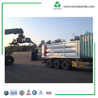 LUXI CNG 11 Tube Skid Trailer