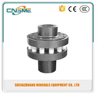 pump spare parts OEM pin and bush coupling low weights and mass moments of inertia