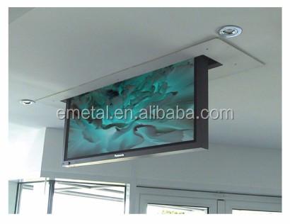 Distance motoris lectrique actionneur tv d roulant for Motorized ceiling drop down tv mount