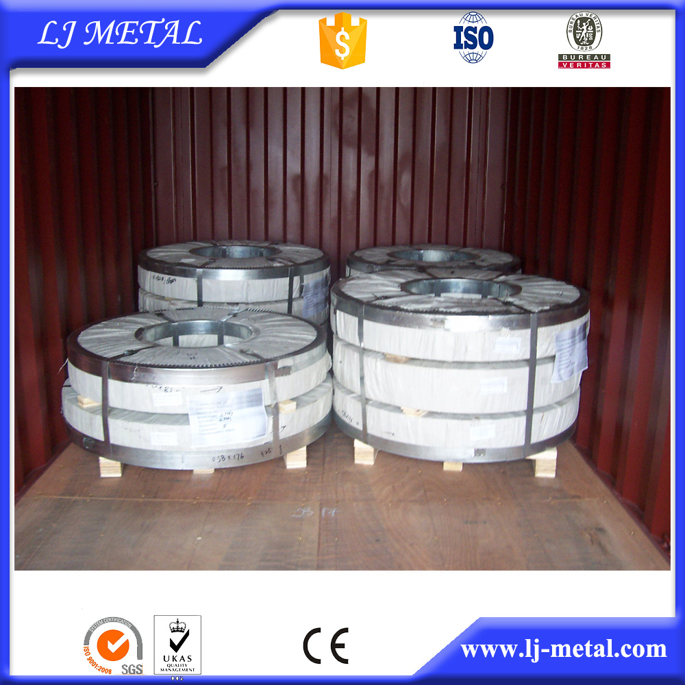steel strip hoop galvanized from tianjin