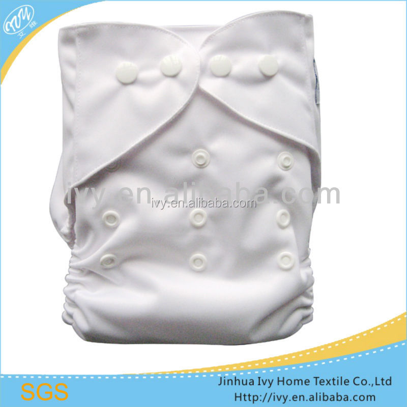 China Supplier Free Samples All In One Size Cuddles Baby Cloth Solid PUL Diaper