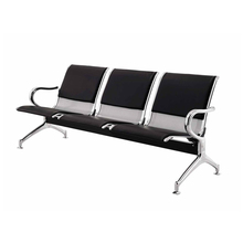 aluminum link waiting chair / aluminum polyurethane airport chair / aluminum public seating