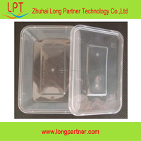 china products 500ml disposable food container / takeaway food container