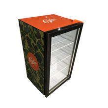 Hotel Energy Drink 98L Mini Display Fridge With Lock