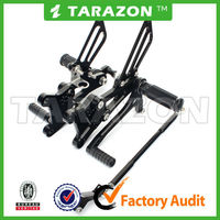 Tarazon brand CNC alloy aluminum motorcycle CBR 600 rear sets for supermoto