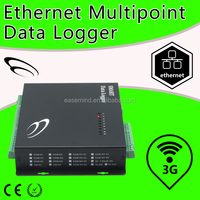Ethernet Multipoint probe for anemometer 3g data logger electric meter