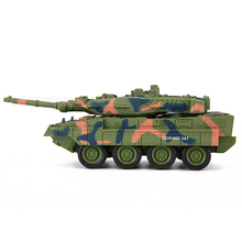 Shenqiwei LEOPARD 2A7 8020 RC Tank Toy Battle Vehicle Remote Control Rotate Fighting Tank Tracks Electrical Toy for Child