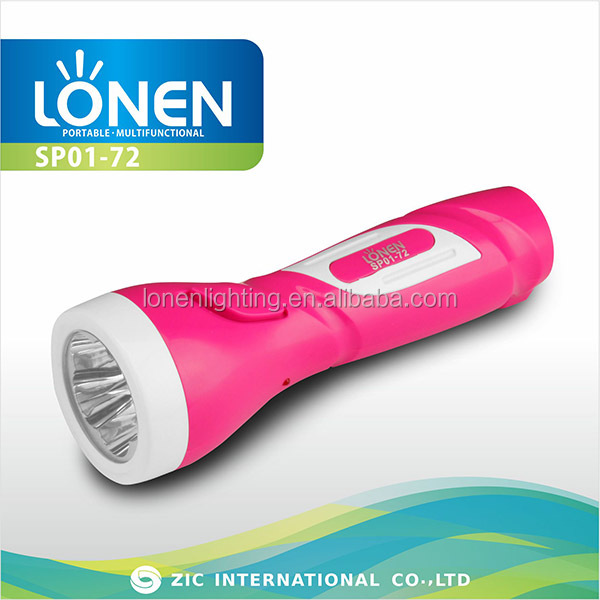 LONEN 5LED rechargeable plastic led torch