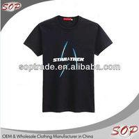 2015 cotton O-Neck cool black rock led t shirt for men