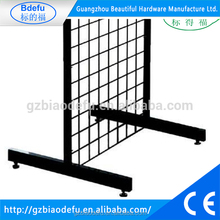 Metal Grid Leg With Levellers, T Leg For Gridwall Display Stand