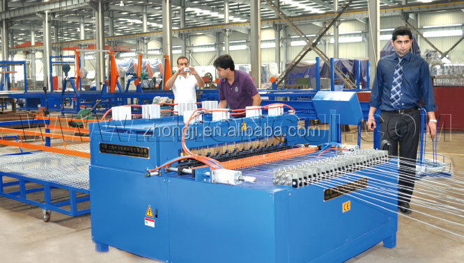 second hand widely used steel wire mesh welding machine