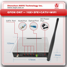 EXW Price Internet+ CATV+WIFI GPON ONT FTTH Device with RF