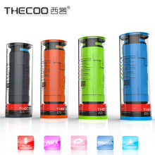 Thecoo newest bike speaker Outdoor Bluetooth Speaker, 10w Speaker Waterproof, wireless Waterproof Speakers