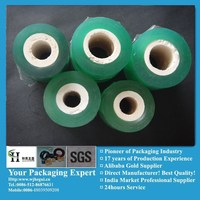 PVC super clear stretch blue roll packaging film manufacturer
