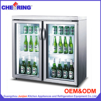 Factory price counter-top drink wine beer refrigerator for coca cola