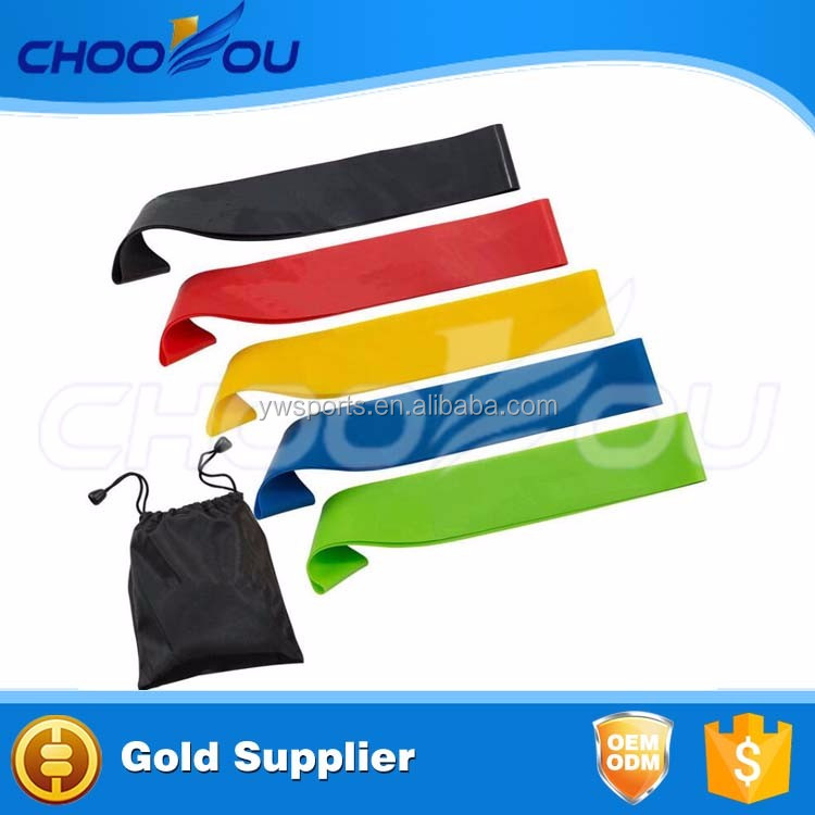 Resistance Band Latex Mini Loop Band Use For Physical Therapy Fitness Stretch Power