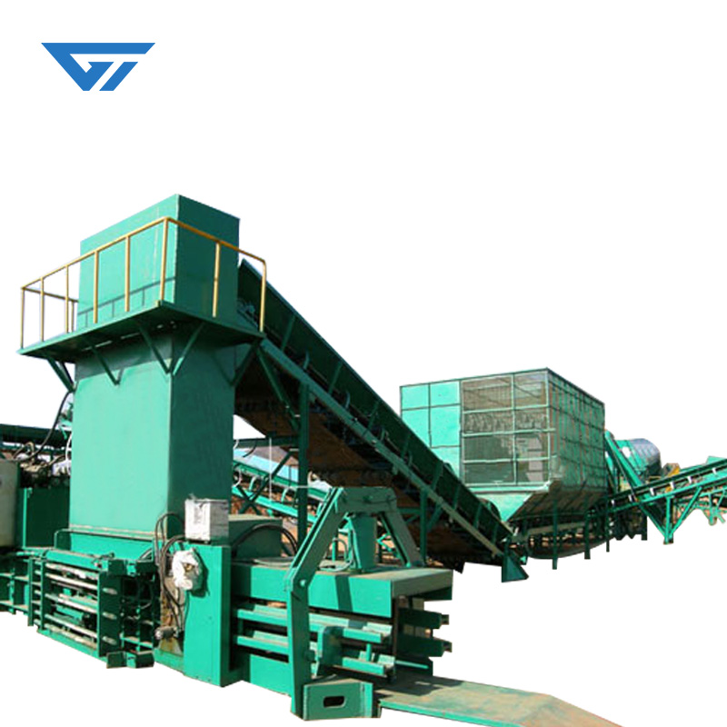 The package size can be customized baling machine for sale baler