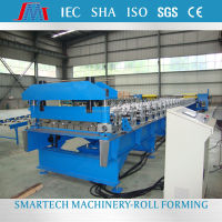 Low price trapezoidal used roof/wall metal roof panel roll forming machine for sale