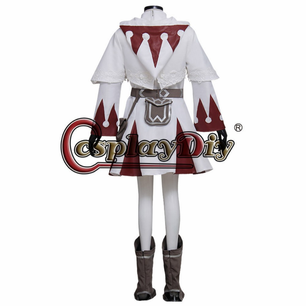 Final Fantasy XIII 13 Oerba Dia Vanille Dress for Adult Women Cosplay Costume Custom Made