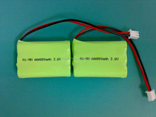 aaa 3.6v 800mah nimh rechargeable lithium battery pack for cordless devices