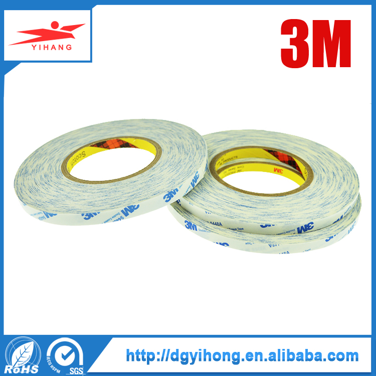 high performance 3M 9448 A double side tissue tape for Nameplate bonding, Plastic film lamination bonding, Foam bonding