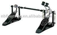 Twin drum pedal for bass drum /Double bass drum pedal