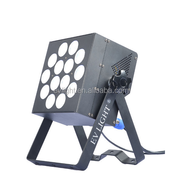 high power theatre light RGBWA-UV dmx par led stage light