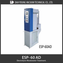 Compact wastewater treatment plant of ESP-60 AD Electrolysis wastewater Treatment System with electrolysis cell