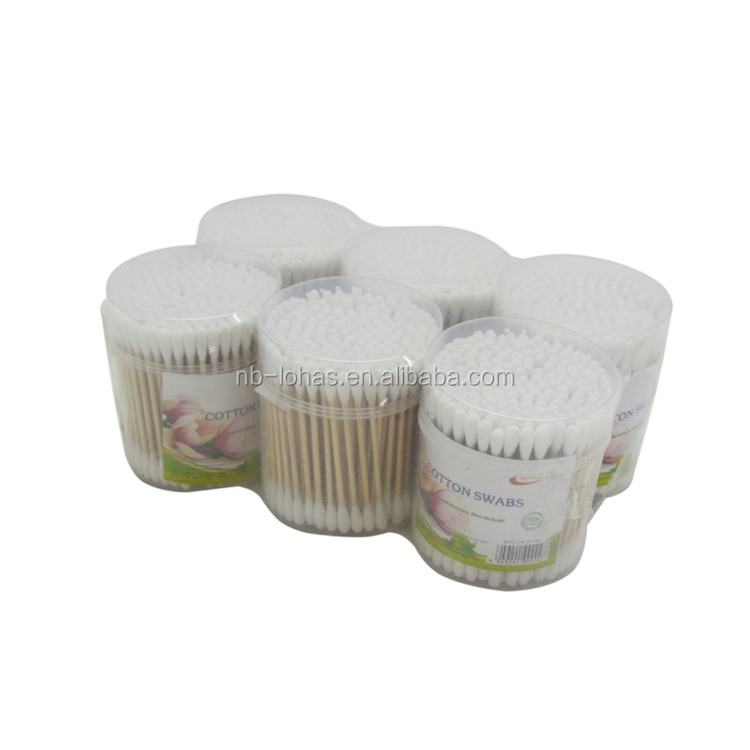 price cutting medical disinfectant medical cotton swab for cleaning ear