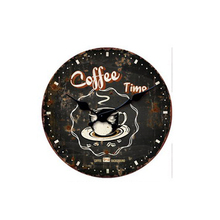 High quality low price can various custom clock themes modern metal wall clock with creative living room decor clock
