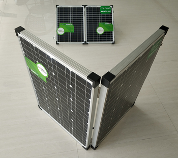 Mono Folding SUOYANG Solar Panels 100W 160W 200W Mono 50w*2pcs with Full Certificates TUV CQC CE ROHS