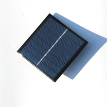 BUHESHUI Solar Panel Charger For Re-chargeable Batteries 1W 4V For 2xAA W/ Battery Charging Base