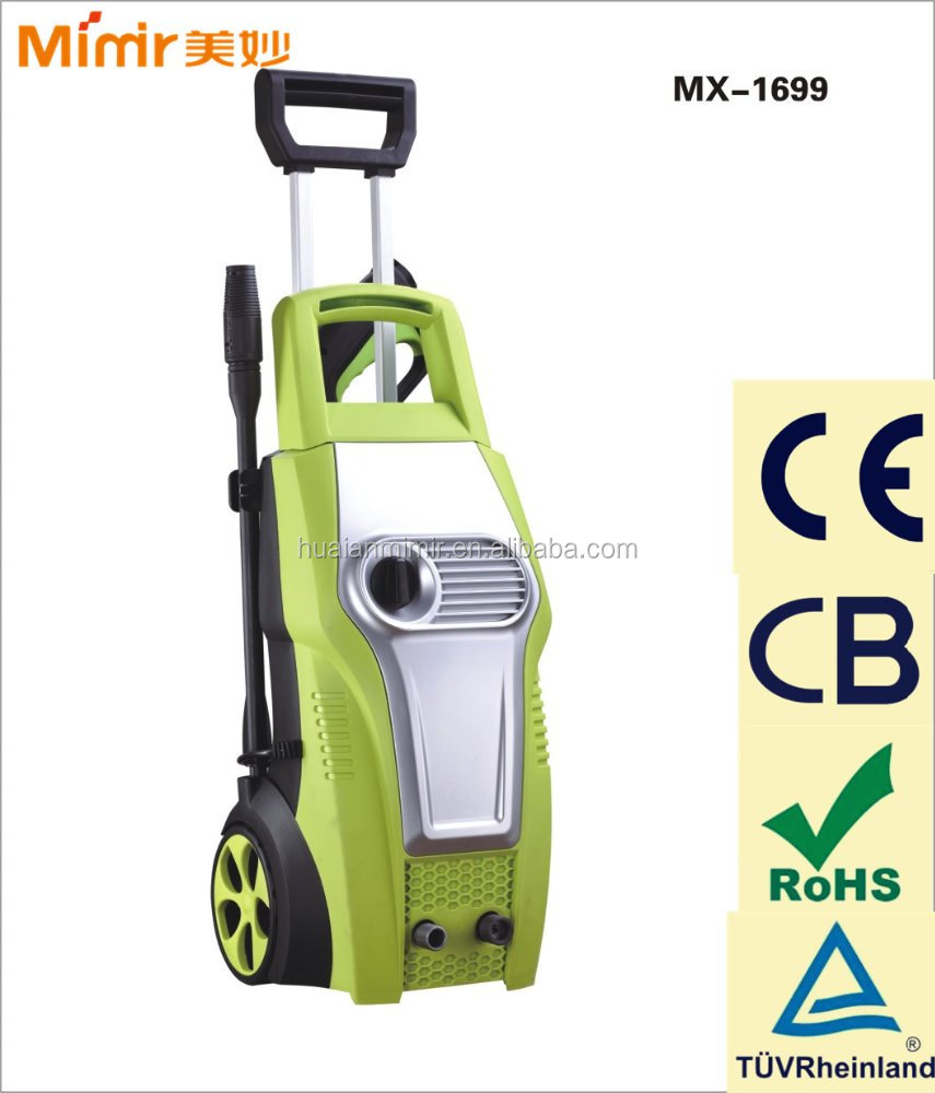 Mimir CE Approval High Pressure Washer for Home and Car 1650W MX-1699