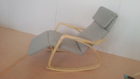 New style cheap K/D bentwood rocking chair with cushion