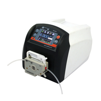 Laboratory precision dosing volume peristaltic pump BT101F with DG10-1 pump head
