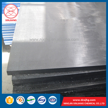 Wear resistant non sticking uhmw sheet for coal bin lining