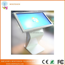 32 inch lcd ir interactive multi touch screen information kiosk