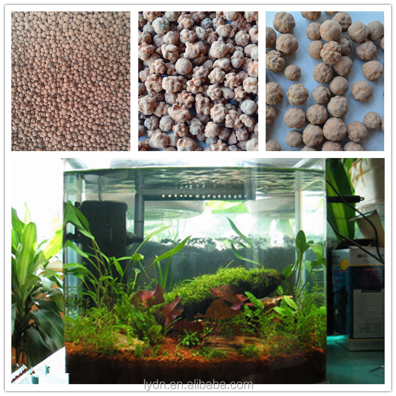 aquaponic media peat moss of aquarium plants for fish tank